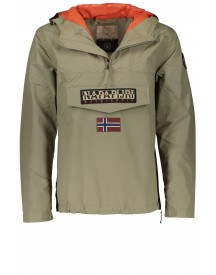 Sale Napapijri Herenjas Khaki Rainforest Summer afbeelding