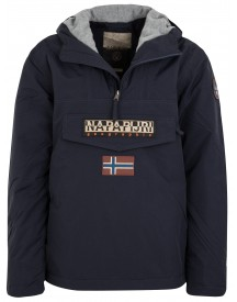 Sale Napapijri Rainforest Winter Jas Marineblauw afbeelding