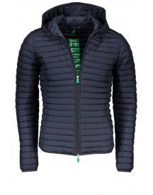 Sale Jas Save The Duck Met Capuchon Navy afbeelding