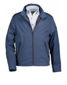 Sale Jack State Of Art Ritssluiting Blauw Regular Fit afbeelding
