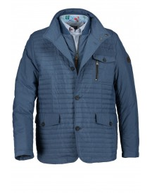 Sale State Of Art Jas Blauw Regular Fit Polyster afbeelding