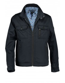 Sale Jas State Of Art Navy Kort Model Regular Fit afbeelding