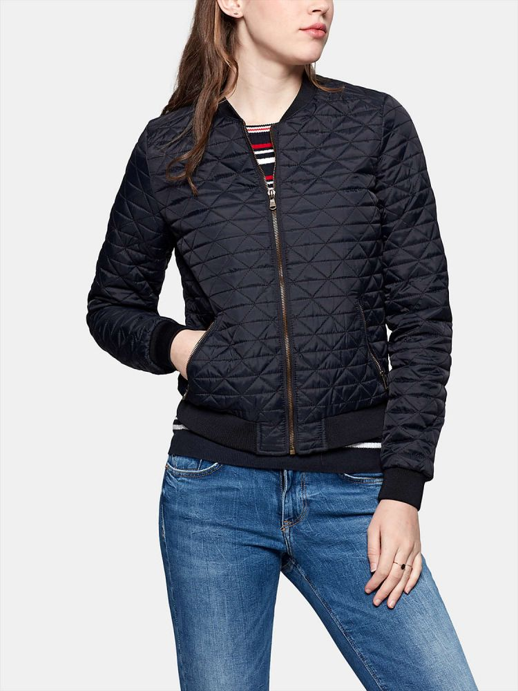 Image Quilted Bomber