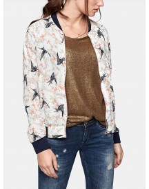 Printed Bomber afbeelding
