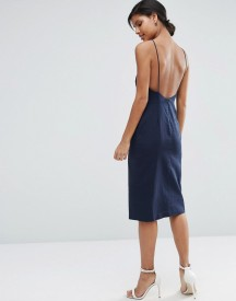 Asos Scoop Back Midi Sundress afbeelding
