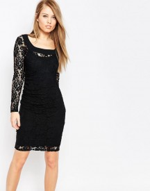 Body Frock Grace Sculpting Dress In Lace afbeelding