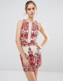 Endless Rose Embroidered Sleeveless Dress afbeelding