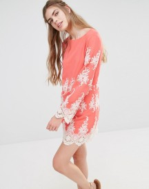 Endless Rose Lace Long Sleeve Mini Dress afbeelding