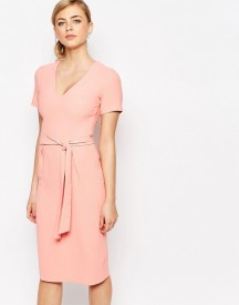 Oasis Premium Belted Pencil Dress afbeelding