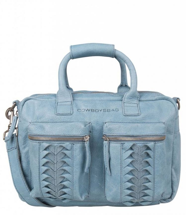Image Cowboysbag De Originele Kleine Crafted Bag Lynford Milky Blue