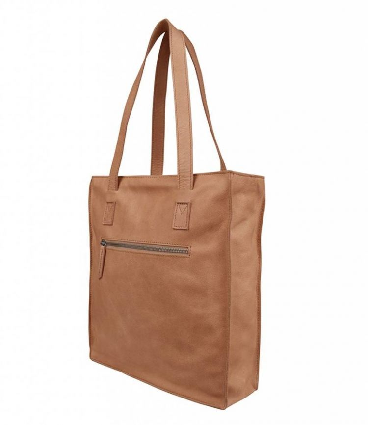 Image Cowboysbag Schoudertas Damestas Shopper Bag Jupiter Camel