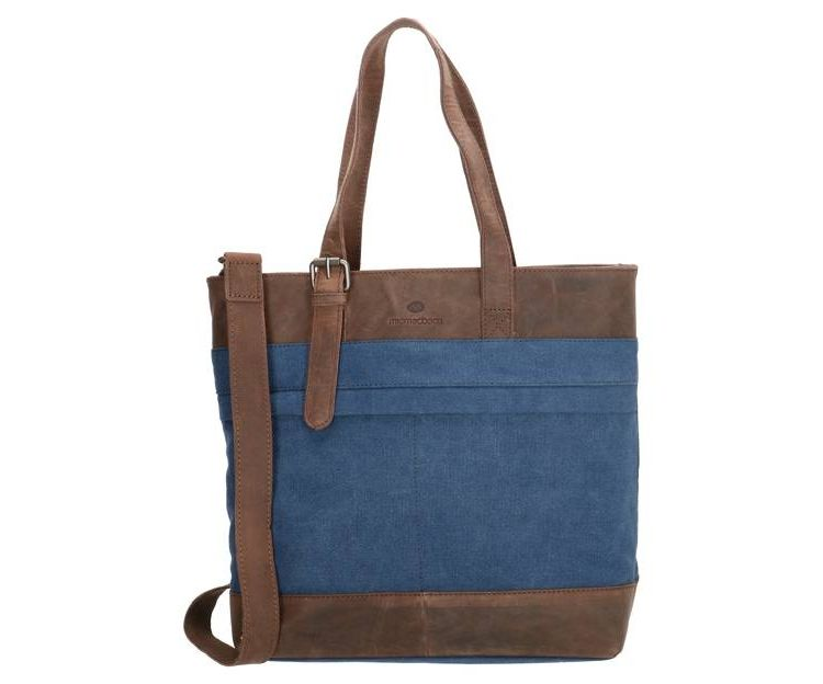 Image Micmacbags Trendy Dames Schoudertas Urban Safari Blauw