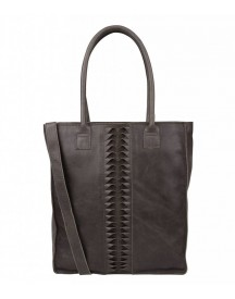 Cowboysbag Damestas Shopper Laptop Tas Bag Alapocas Storm Grey afbeelding