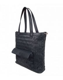 Cowboysbag Handtas Schoudertas Shopper Bag Harrington Navy afbeelding
