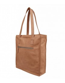 Cowboysbag Schoudertas Damestas Shopper Bag Jupiter Camel afbeelding