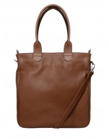 M Y K. Damestas Schoudertas Shopper Planet Camel afbeelding