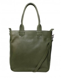 M Y K. Damestas Schoudertas Shopper Planet Olive afbeelding