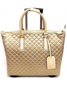 Olivia Lauren Elegante Travel Bag Office Trolley Broadway Gouden afbeelding