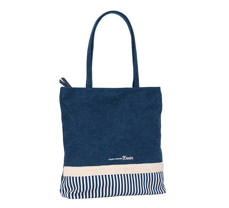 Image Tom Tailor Denim Modieuze Trendy Shopper Mary Blauw