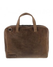 Plevier Laptoptas 14 Inch Taupe afbeelding