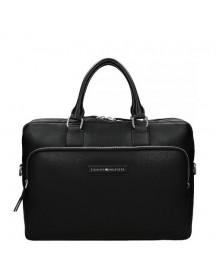 Tommy Hilfiger Corporate Mix Laptoptas Black afbeelding