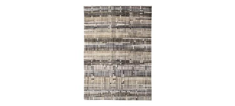Image Louis De Poortere Mad Men Hudson Grey 8413 Vloerkleed 280 X 200 Cm