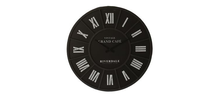 Image Riverdale Grand Cafe Wandklok à 45 Cm