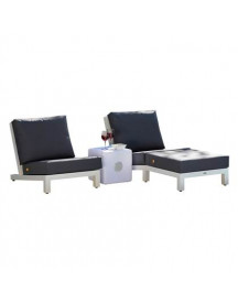 Life Outdoor Living Block All Weather Loungeset afbeelding
