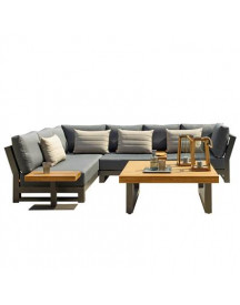 Life Outdoor Living Nevada All Weather Loungeset afbeelding