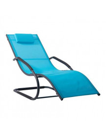 Vivere Wave Lounger Tuinstoel afbeelding