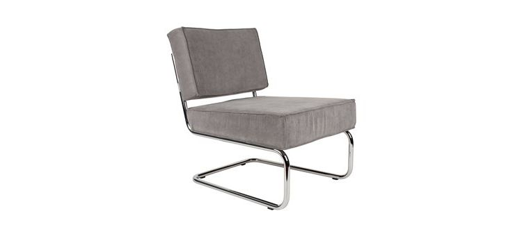 Image Zuiver Lounge Chair Ridge Rib Fauteuil