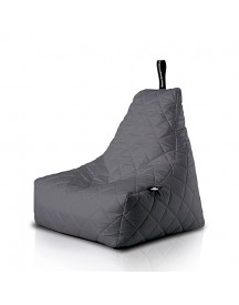 Extreme Lounging B-bag Mighty-b Quilted Zitzak - Grijs afbeelding
