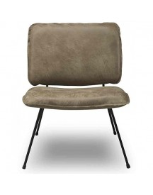 Shabbies Amsterdam Fauteuil Leer - Taupe afbeelding