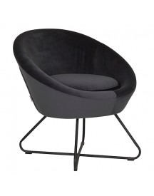 Must Living Cuddley Fauteuil - Antraciet afbeelding
