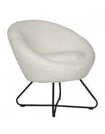 Must Living Cuddley Fauteuil - Wit afbeelding