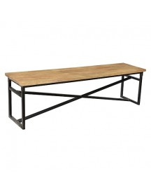New Routz Webster Bankje Hout - 40 X 163 Cm afbeelding
