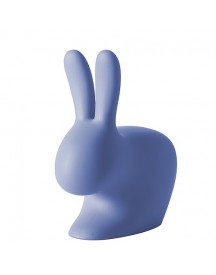 Qeeboo Rabbit Chair 80 Cm Stoel - Light Blue afbeelding