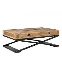 Richmond Interiors Old Elm Salontafel - 130 X 80 Cm afbeelding