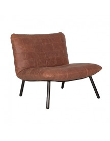 So True By Troubadour Storm Fauteuil - Cognac afbeelding