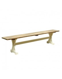 Timzowood Living Kruis Bank Groot 200x45x30 - Old Strand afbeelding