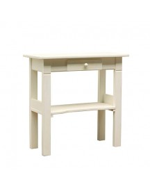 Timzowood Living Petit Table 77 X 80 Cm - Geschuurd Wit afbeelding