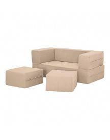 Xoft Living Snapsit Junior Double Bank - Beige afbeelding